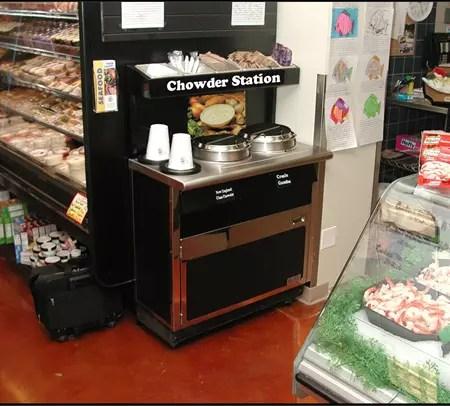 Narrow Soup Bar and Chowder Station - Soup's On - Atlantic Food Bars - SOG3618N 2
