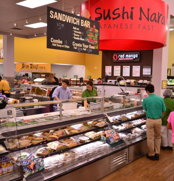 Sushi Bar and Sandwich Prep Station - Atlantic Food Bars - SILR 3