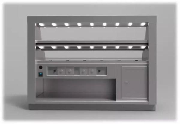 Wrangler Two Level Packaged Hot Food Merchandiser - Atlantic Food Bars - WR7242-RP 3