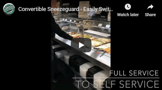 Atlantic Food Bars - Convertible Sneezeguards Video