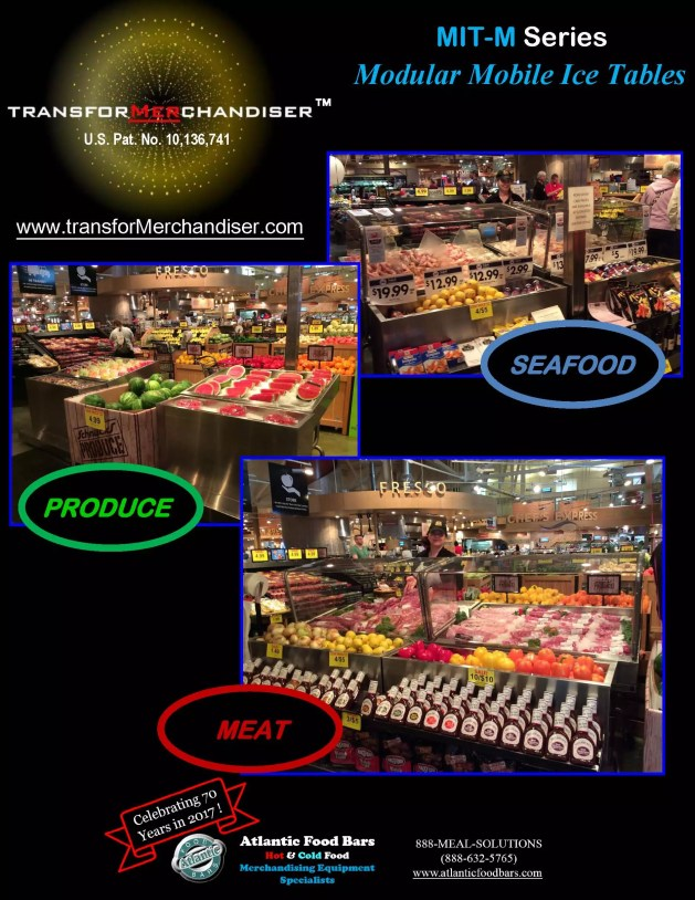 Atlantic Food Bars - Modular Mobile Ice Tables - Sell Meat, Seafood, Produce and more with Interchangeable Kit System - The transforMerchandiser_Page_1