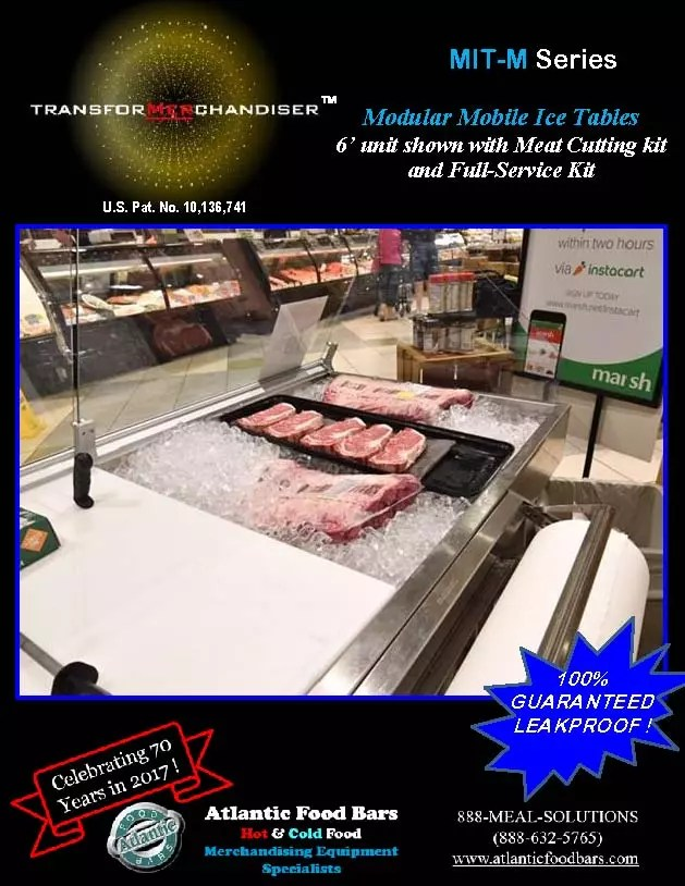 Atlantic Food Bars - Modular Mobile Ice Tables - Sell Meat, Seafood, Produce and more with Interchangeable Kit System - The transforMerchandiser_Page_3