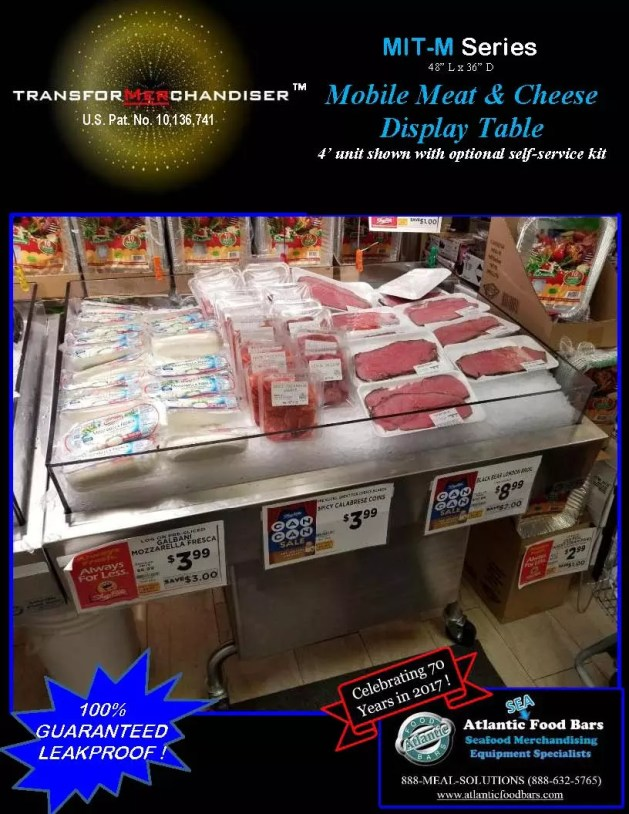 Atlantic Food Bars - Modular Mobile Ice Tables - Sell Meat, Seafood, Produce and more with Interchangeable Kit System - The transforMerchandiser_Page_4