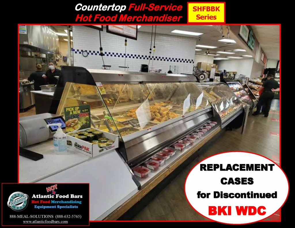 Atlantic Food Bars - Full Service Hot Food Bar with Modules and Options - Countertop and Freestanding Base Model - SHFBBK Presentation for Discontinued BKI WDC_Page_05