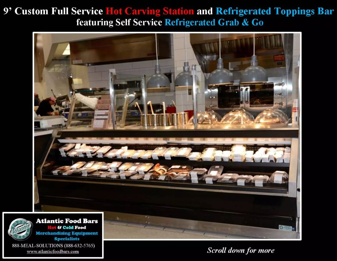 Atlantic Food Bars - Hot and Cold Prepared Foods Lineup including Custom Carving Station and Toppings Bar, Hot Packaged Food and Refrigerated Grab and Go - WRGCL SHFB_Page_1