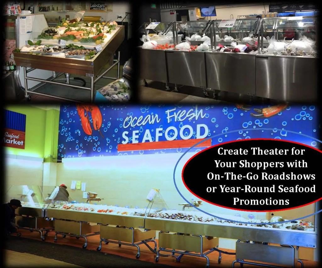 Atlantic SEAFood Bars - Fresh Seafood Merchandising Ideas - Guaranteed Leak Proof 2
