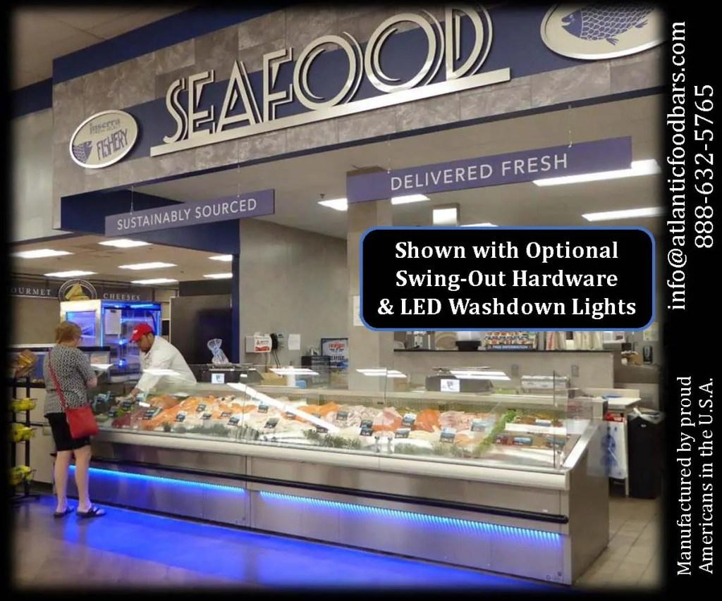 Atlantic SEAFood Bars - Fresh Seafood Merchandising Ideas - Guaranteed Leak Proof 9