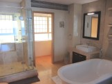 Valhalla Apartment 1 bedroom sea views Luxury Holiday Accommodation Rental property Atlantic Letting Camps Bay Clifton Cape Town bathroom photo