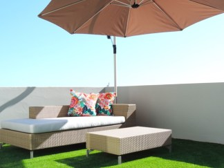 Fresnaye Charm Outdoor furniture Cape Town Holiday Accommodation Atlantic Letting Luxury Rental Image
