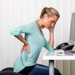 back pain desk posture