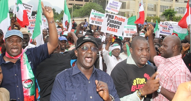 Organised-Labour-wants-every-corrupt-Nigerian-to-face-justice-no-matter-whose-ox-is-goared