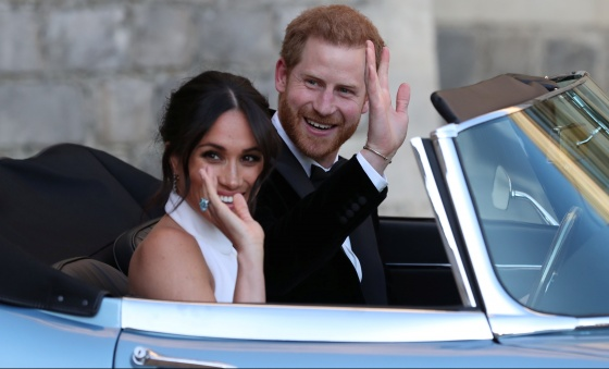 In a union of tradition and modernity, U.S. actress Meghan marries Prince Harry