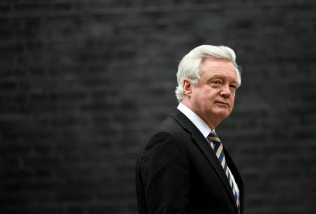 FILE PHOTO - Britain's Secretary of State for Exiting the European Union David Davis leaves 10 Downing Street, London