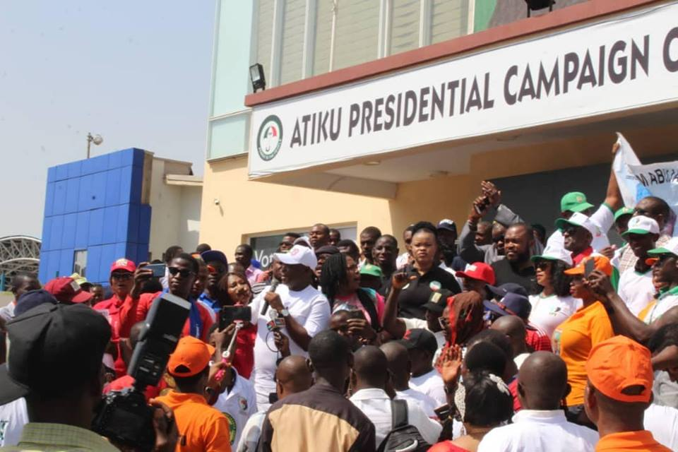 Atiku Support Groups Shut Down Abuja, Hold Unity Walk