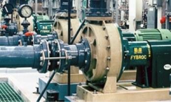 Fybroc Pump installed