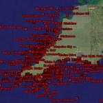 Google Earth wrecks