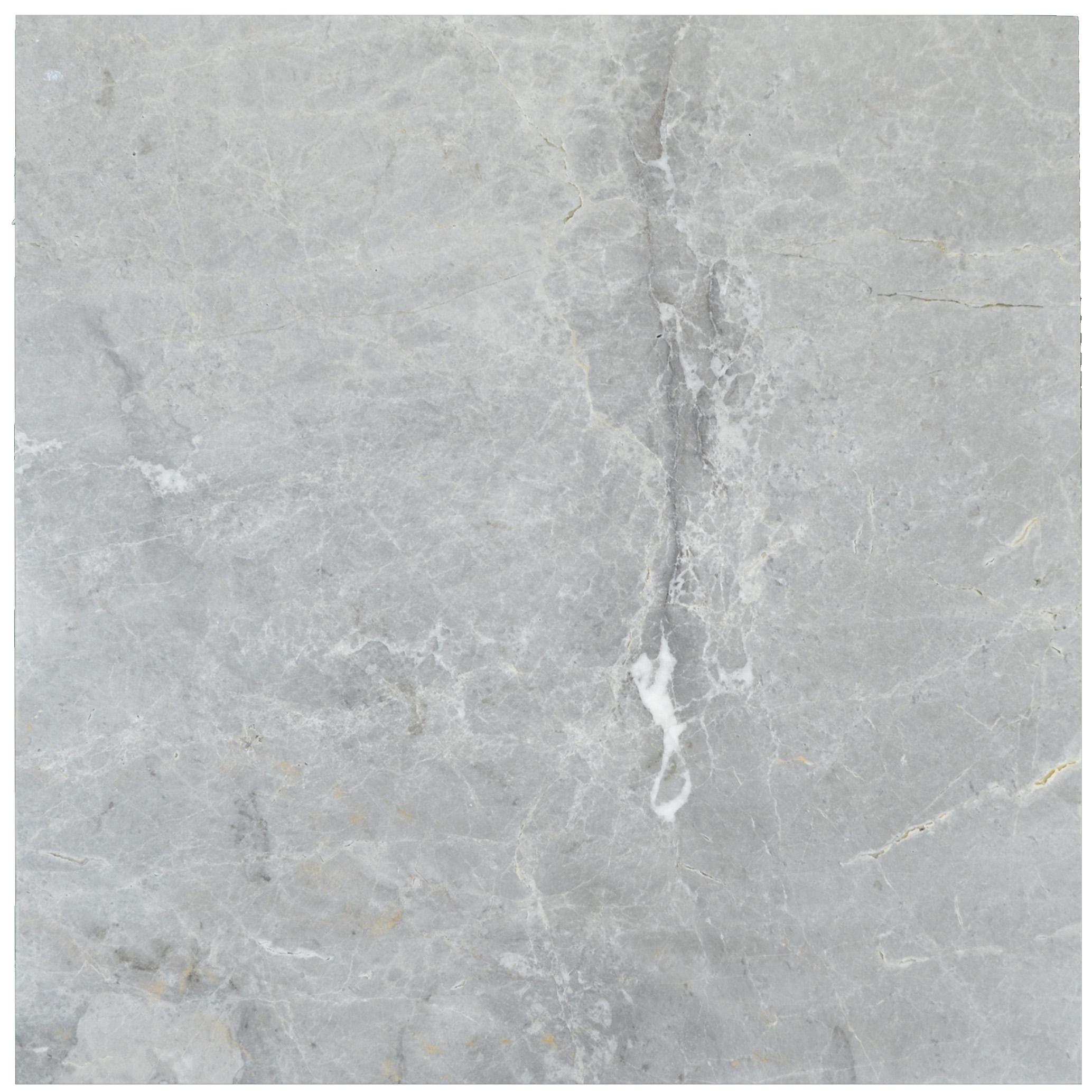 Silver Brushed Marble Tiles 18x18