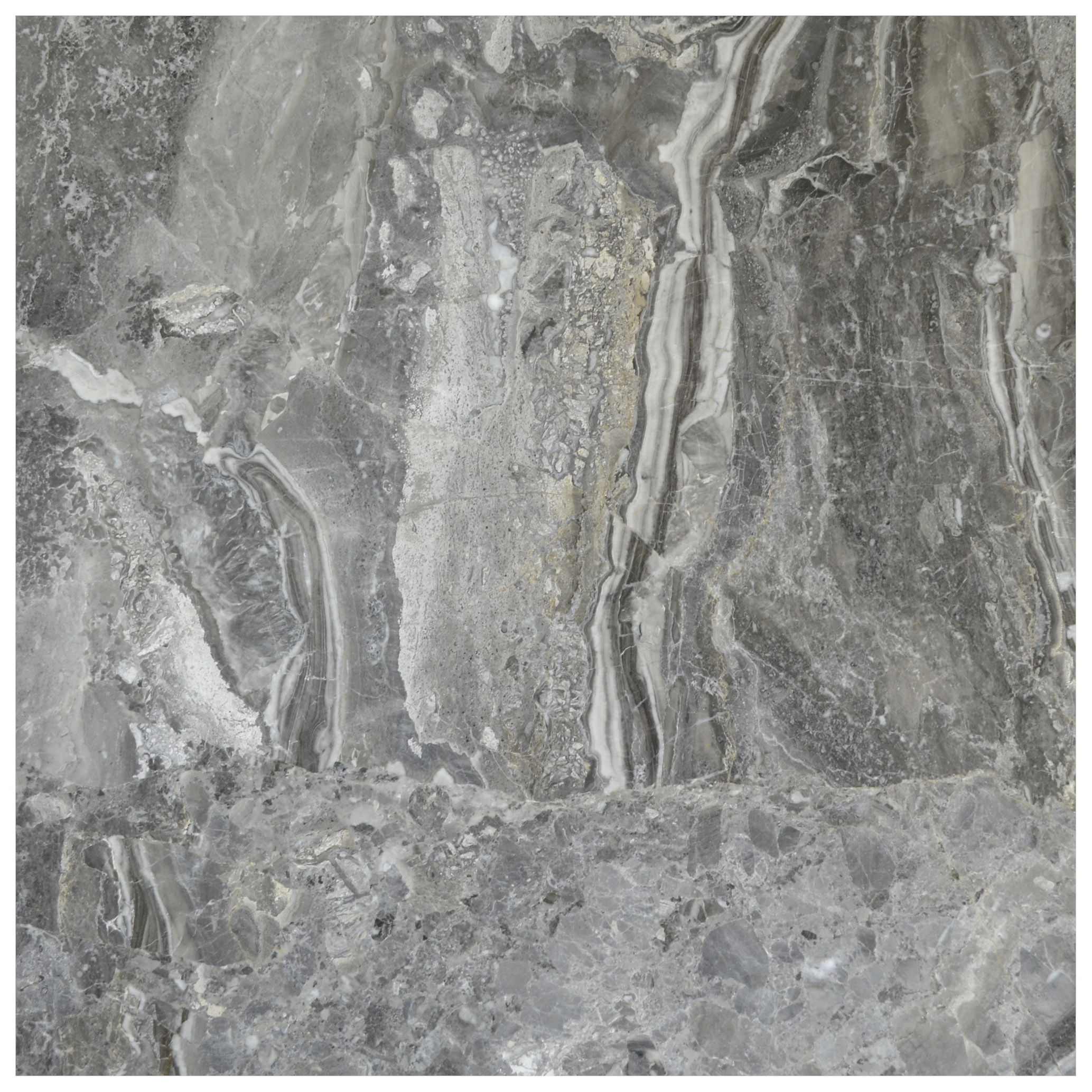 silver fantasy polished marble tiles