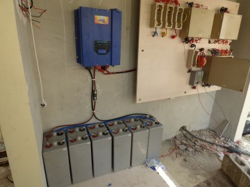 5 Kw with 2 V batteries in PH