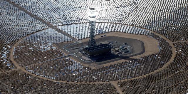 World largest solar plant