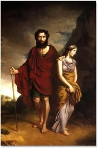 Oedip si Antigona