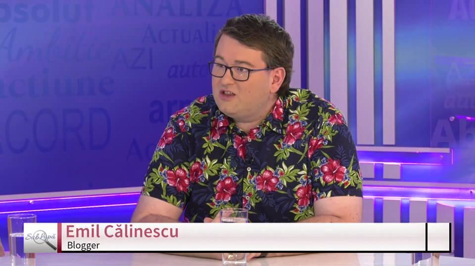 Interviu cu SuperBlogger-ul Emil, Interviu cu SuperBlogger-ul Emil Călinescu