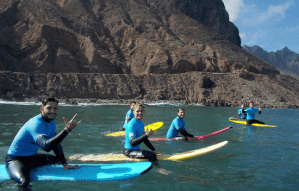 Surf lessons in Tenerife