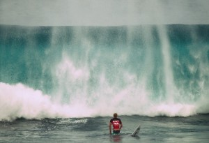 Caught inside surfing