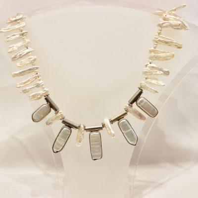 Pearl Silver Neckalce