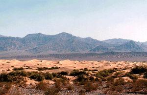 Abb. 8 Das Death-Valley in Colorado. In dieser Gegend sollen vor 80 000 Jahren Riesen von mehr als drei Meter Körpergröße gelebt haben.