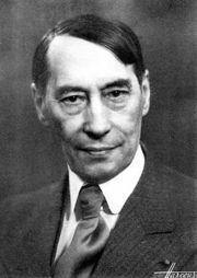 Abb. 5 Der Geologe und Paläontologe Paul Lemoine (1878-1940) gehörte zu den Wissenschaftlern, die den 'Riesenfund' von 1933 inspizierten.