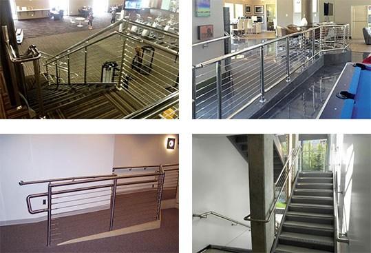 Ada Accessibility Railing Solution Atlantis Rail Systems | Ada Compliant Exterior Handrails | Stainless Steel | Deck Railing | Extension | Vinyl | Hand Rail
