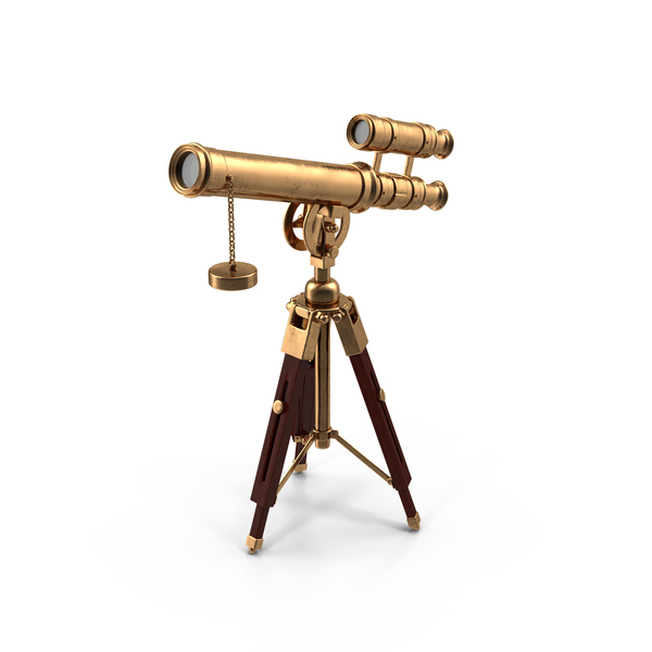 Cartoon Antique Telescope PNG Images Amp PSDs For Download