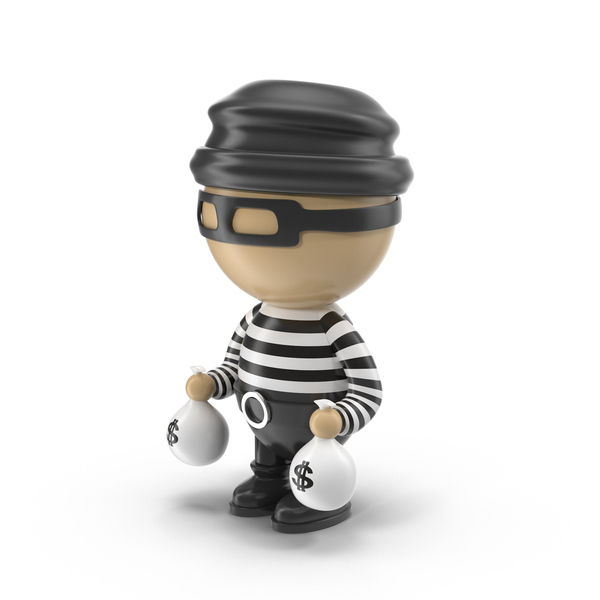 Cartoon Male Thief PNG Images Amp PSDs For Download