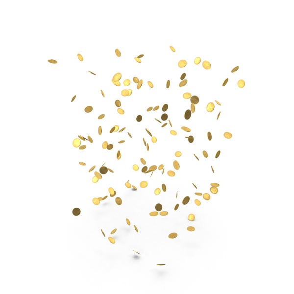 Falling Gold Doubloons PNG Images Amp PSDs For Download