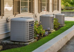 3 outdoor ac units