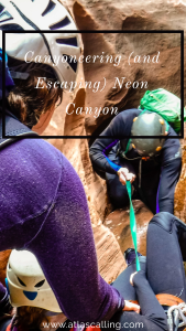 Canyoneering (and Escaping) Neon Canyon