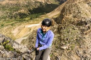 Climbing the Citadel to Pettingell Traverse