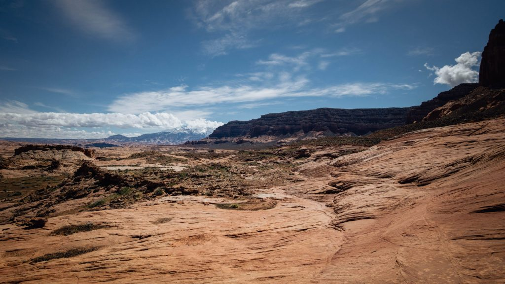 Beginning of the trail to Reflection Canyon