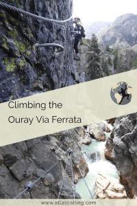Climbing the Ouray Via Ferrata