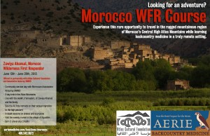 Morocco WFR Poster