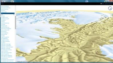 Specific Terrain Model, Vector and Raster layer (Last Glacial Maximum)