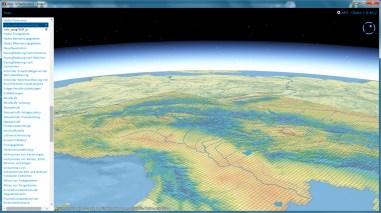 Grid layer (annual precipitation)
