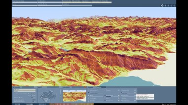 Slope: Showing the steepness of the terrain using colored slope classes