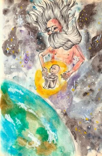 chakras em planos superiores e planetários, desenho holistico, os teus guias de luz elementares, meditação eu superior atlas do ser