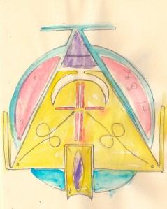 códigos de luz desenho astral postal cósmico