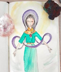 atlas do ser - libertação das cordas - tarot - desenhos de luz - desenhos de alma - arte holística - terapia