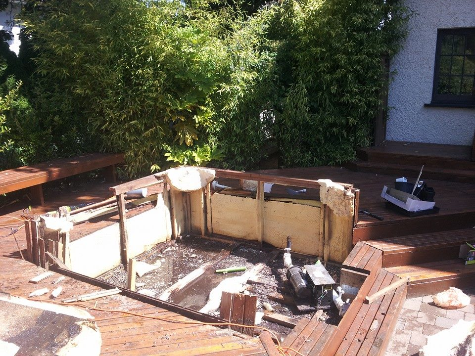 Hot Tub Removal Full Service Clean Up Atlas Junk Removal