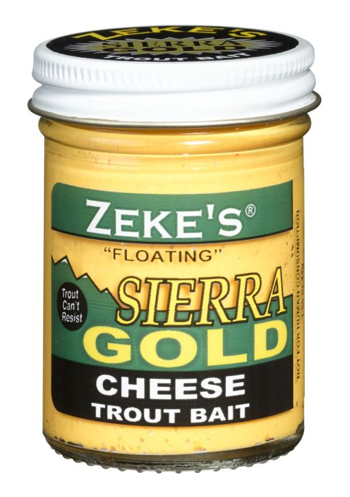 0901 Zeke's Sierra Gold Floating Trout Bait - Cheese/Yellow0901 Zeke's Sierra Gold Floating Trout Bait - Cheese/Yellow