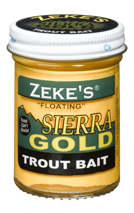 0912 Zeke's Sierra Gold Floating Trout Bait - Yellow
